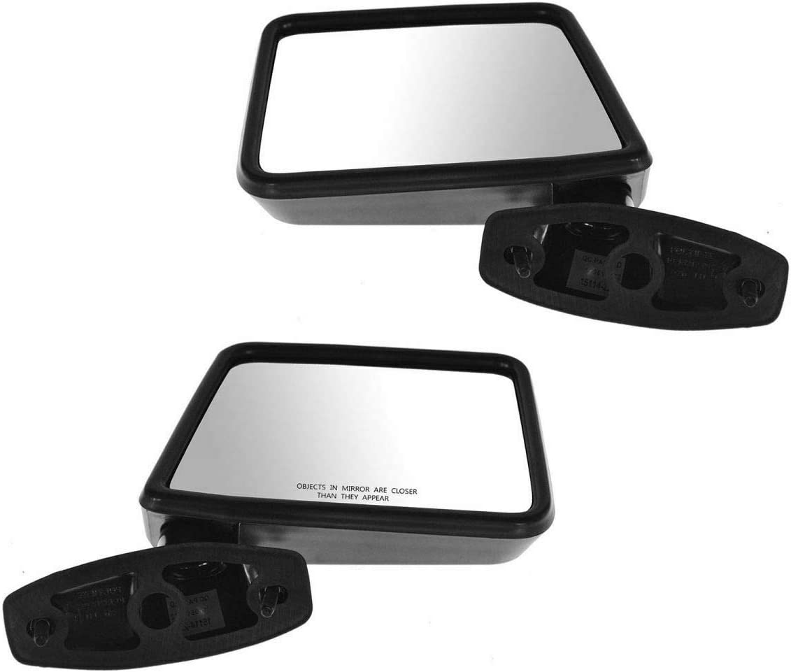 Manual Side View Mirrors Left Right Compatible Set Portland Mall All items free shipping E Pair with