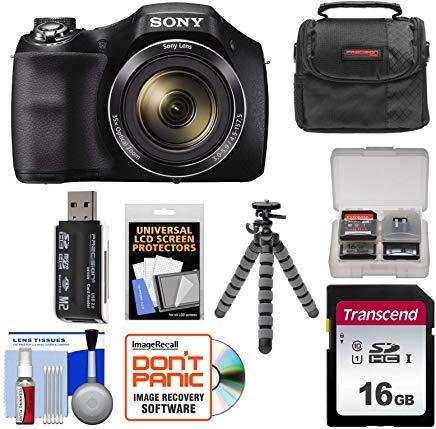 Sony Cyber-Shot DSC-H300 Digital Camera with 16GB...