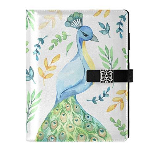 Cuaderno de notas de cuero con relleno interior A5, cuaderno de viaje, cuaderno de tapa dura, para mujer, hombre
