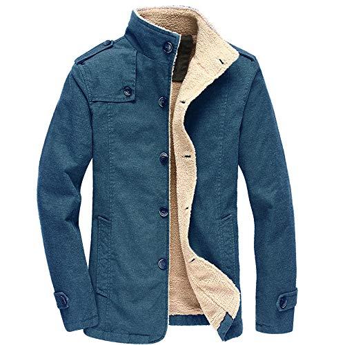 PRJN Mens Hoodie Men Boys Long Sleeve Patchwork Hooded Sweatshirt Jacket Autumn Winter Coat Sweater Hoody Fall and Winter Mens Stand up Collar Plus Velvet Thick Slim Coat Jacket