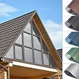 Kinlo lámina de protección solar para ventanas, lámina de pvc para espejo, sin pegamento, autoadhesiva, protección contra el calor, protección uv, lámina antiarañazos, pvc 75x300cm