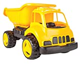 Jamara- Dump Truck XL Coche de Arena, Color Amarillo (460269)