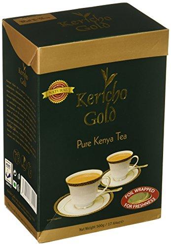 Kenya tea - Kericho Gold Premium Tea - Loose Tea (1.1lb / 17.7oz / 500g) by N/A