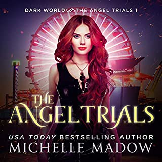 The Angel Trials audiobook cover art
