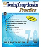 Mark Twain Media | Reading Comprehension Practice Workbook | 7th–8th Grade, 96pgs
