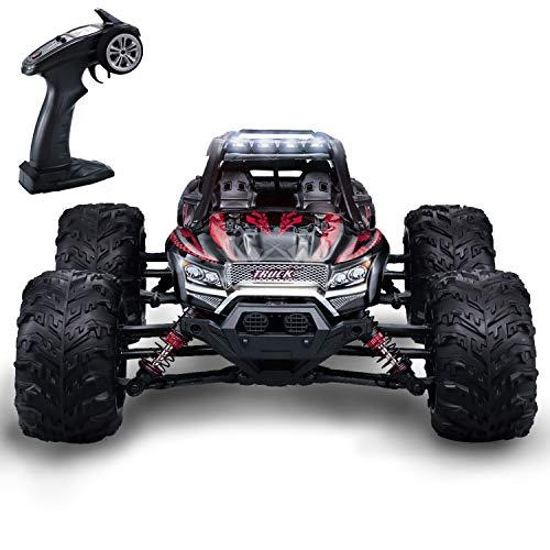 GoStock Ferngesteuertes Auto, 4WD RC Auto 36 km/h 1:16 Funkfernsteuerung Elektro Geländewagen 2,4 GHz RC ferngesteuertes Offroad Monstertruck Buggy Auto Spielzeug Geschenk für Kinder und Erwachsene