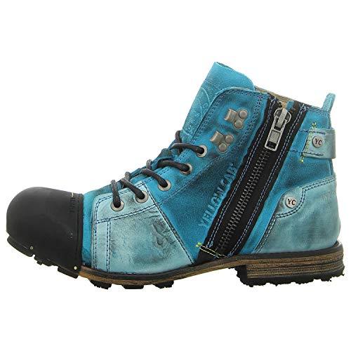 Yellow Cab Y15419 Industrial 2-E - Herren Schuhe Boots/Stiefel - 400-blue, Größe:44 EU