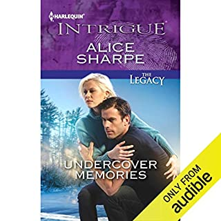 Undercover Memories audiobook cover art