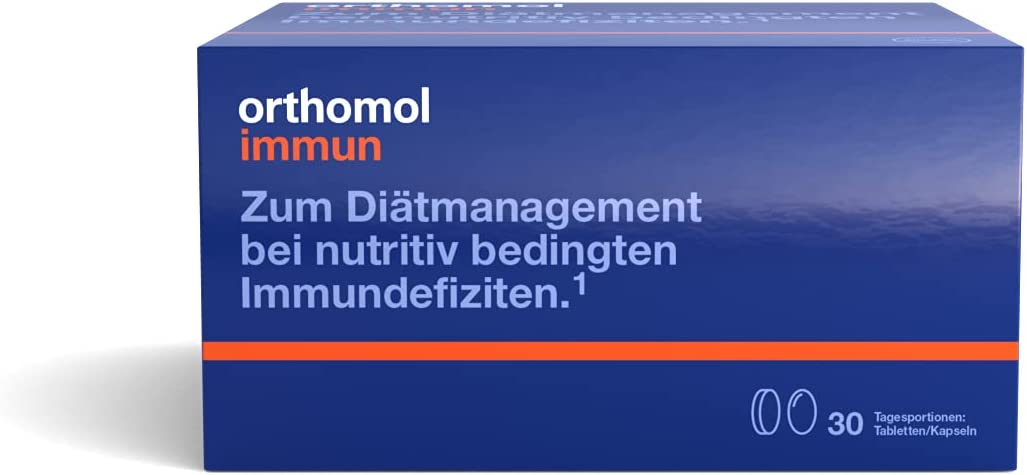 Orthomol Immun Tablets and Capsules Cheap bargain Supply 30 Under blast sales - Day