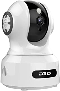 D3D 826 (1920x1080P) 2 0MP Alexa Enabled   Face Detection   Voice Detection   Smart Tracking   WiFi Wireless IP Night Visi...