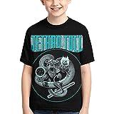 T-Shirt Camisetas y Tops Polos y Camisas Jethro Tull Logo Boys Girls 3D Printed Top tee Shirts