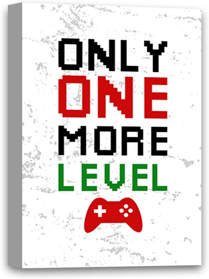 Purchase Gaming Canvas Wall Art Only One Game More Print San Antonio Mall Decor Funny Home
