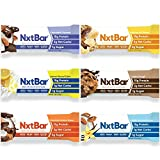 NxtBar Protein Bar Variety Pack   Keto & Paleo Friendly Low Carb Low Sugar Low Calorie Bars   Keto...