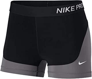 Woman Pro Shorts 3 Inch Black/Gunsmoke/White Size Small