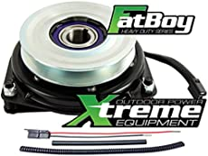 Xtreme Outdoor Power Equipment Bundle - 2 Items: PTO Electric Blade Clutch, Wire Harness Repair Kit. X0626 Replaces Kubota PTO Clutch K121132010, OEM Upgrade! w/Wire Harness Repair Kit