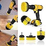 RanDal 3Pcs Trapano Scrubber Brush Spazzola Per Pulizia Potere Per Setole Elettrico Comple...