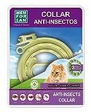MENFORSAN Collar Antiparasitos para Gatos | Repelente con Ingredientes Naturales | Margosa, Geraniol Y Lavandino | Protección Frente A Cualquier Insecto 200 g