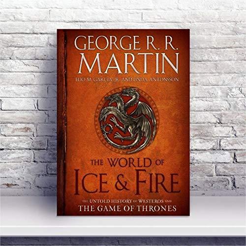 Placa MDF GOT o mundo do gelo e fogo