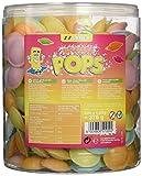 Sadex Brause Pops (Ufos) 300 Stück in der Dose, 1er Pack (1 x 378 g)