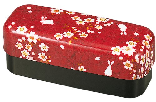 Double Bento Box Slim et Compact Collection Usagi Sakura