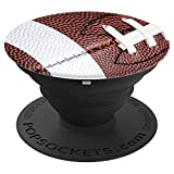 American Football - High School College Football PopSockets Grip and Stand for Phones and Tablets