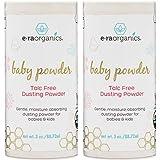 Baby Powder - (2 pack) USDA Certified Organic Dusting Powder Non-GMO, Cruelty Free, Natural and Organic Baby Products Era-Organics