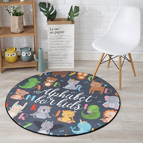 Good thing tapis Tapis, tapis, tapis de chambre à coucher de salon de lits d'enfants, tapis de plancher de chaises d'ordinateur, balcon à la maison accrochant le tapis de panier ( taille : Diameter 80CM )