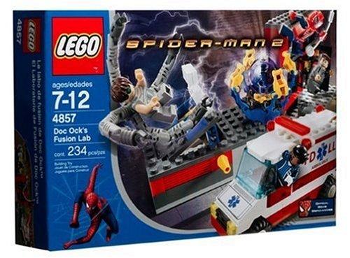 Lego Spiderman 4857 Doc Ock's Fusions-Labor von 2004