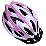 Zacro Adult Bike Helmet - Cycle Helmet, Specialized for Womens Safety Protection, Collocated with a Headband, Pink Plus...