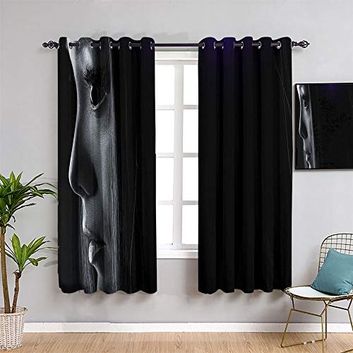 Curtains for Living Room Guardians of the Galaxy Mantis Grommet Window Curtains for child bedroom W72 x L72