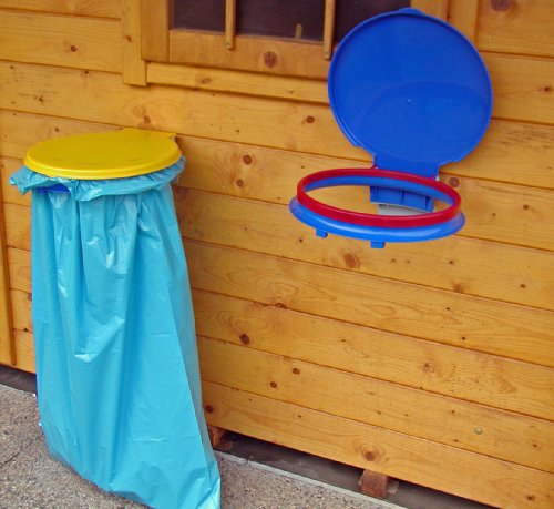 Gies Haushaltsware, Plastik, blau, 42 x 41 x 9 cm