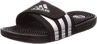 adidas Adissage Sports Shoes Mens Blue Size: