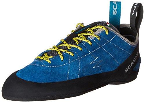 SCARPA Men's Helix Climbing Shoe-M, Hyper Blue, 10.5