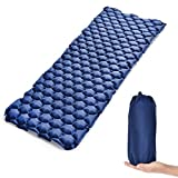 EDEUOEY Ultralight Camping Sleeping Pad: Inflatable Camping for Laidback Women King Firm Lightweight Air Mat Big Hiking Set Winter Backpacking Sleeping Pad