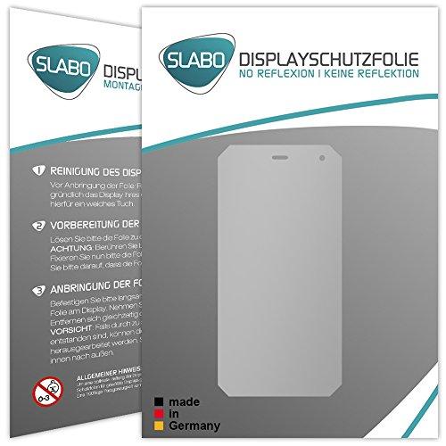 Slabo 2 x Bildschirmfolie für Cyrus CS24 Bildschirmschutzfolie Zubehör No Reflexion MATT