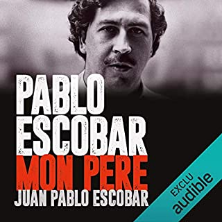 Page de couverture de Pablo Escobar, mon père