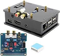ACAMPTAR Dac Estuche Pcm5122 I2S 32 bits de Alta Fidelidad Pifi Digi Dac Igi Kit de Tarjeta de Sonido de Audio Digital para Raspberry Pi 3 Modelo B / 2B / B