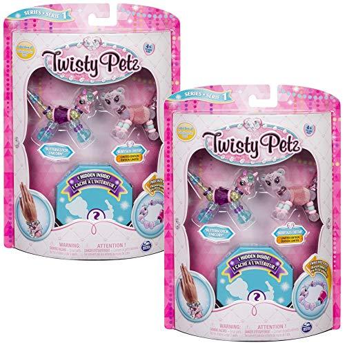 Twisty Petz 6044203 - Verwandlungsarmbänder für Kinder 3er Set, unterschiedliche Produktvarianten (2)