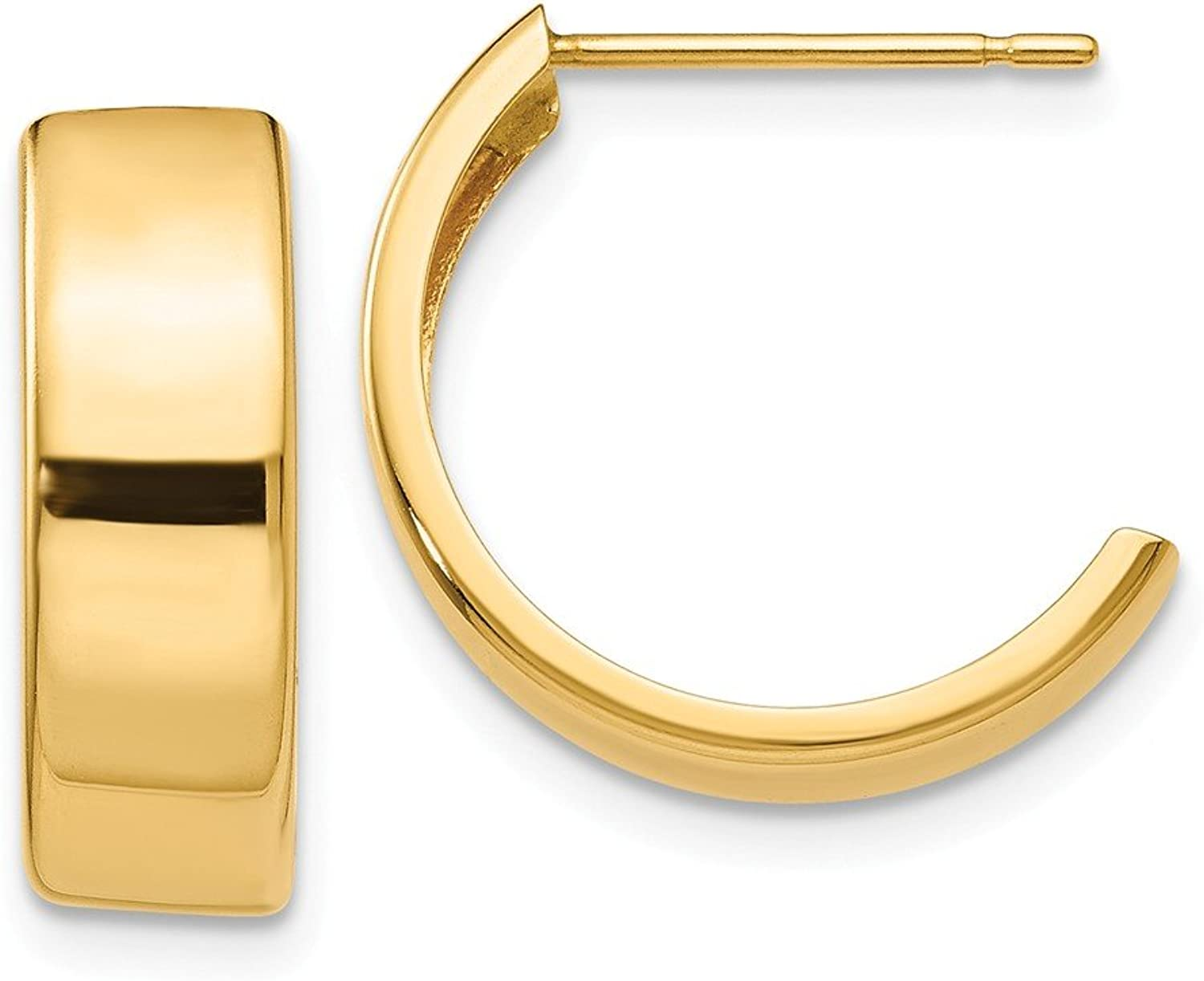Beautiful Yellow gold 14K Yellowgold 14K Hoop Earrings