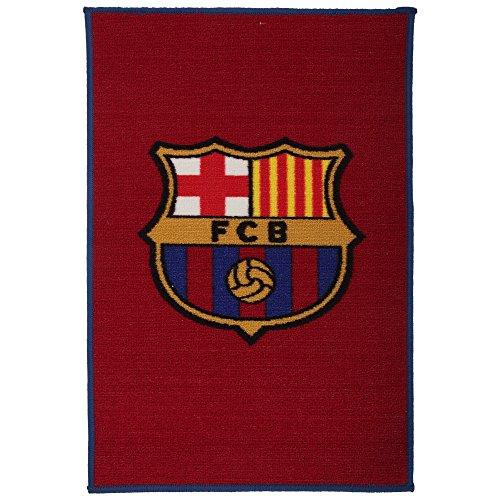 FCB FC Barcelona - Alfombra Oficial del FC Barcelona (50cm x 80cm) (Azulgrana)