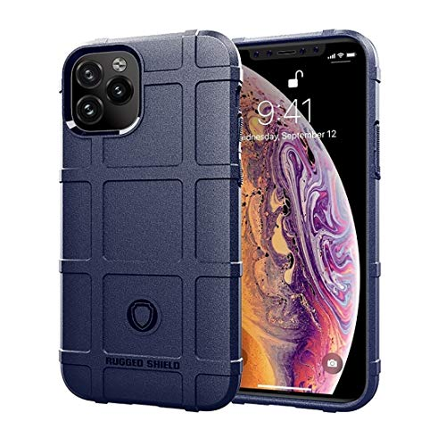 Wdckxy SyFull Cover Custodia antiurto TPU per iPhone 11 Pro(Nero) (Colore: Blu)