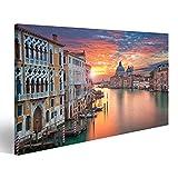 Bild Bilder auf Leinwand Venedig Bild von Canal Grande in