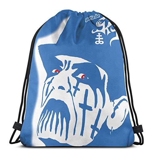 Bolsa con cordón Gorilla Gym Tank Top Gimnasio Entrenamiento Gymsa-White1-OneSize