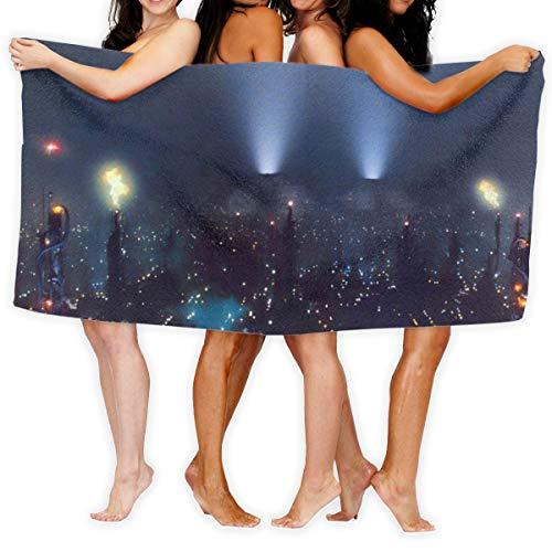 N/A BLADE RUNNER Drama Sci-Fi Thriller Action City Gk Quick Dry Handdoek Katoen Super Zachte handdoek Bestand badhanddoek 80cmx130cm