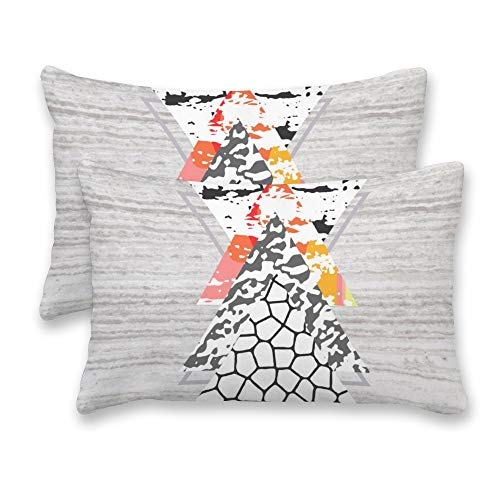 16 x 24 Pouces Casa Haus Garnitures//Inserts doreiller 40 cm x 60 cm Lot de 2