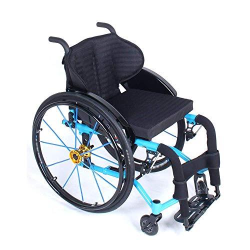 YOUTH BURST Freizeitschwerbsfaltung, Selbstfahrende Rollstuhl-Rollstuhl-Rollstuhl-Selbstfahrtausch-Rollstuhlfahrerin, Behinderten-Rollstuhl Für Junge Menschen, Die Sportliche Menschen Nutzen,Clear