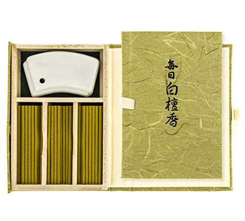 nippon kodo Mainichi Byakudan Sándalo Blanco 60 Barritas - Incienso Japonés