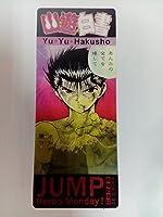 ジャンプ展 幽遊白書 来場記念証 入場特典カード 飛影 蔵馬 幽助 HERO'S MONDAY 5 21 チェンジングカード