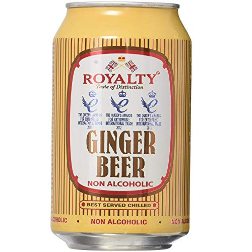 Royalty Ginger Beer 330ml (Pack of 12)