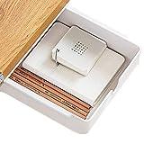 Cassetto Sotto Scrivania Bianca Cassetti Sotto Scrivania - 23.5x19.8x7.1cm - Cassetti Nascosti per Ufficio, Scuola, Cucina